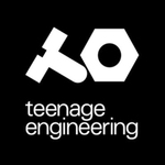 Thumb teenage engineering logo